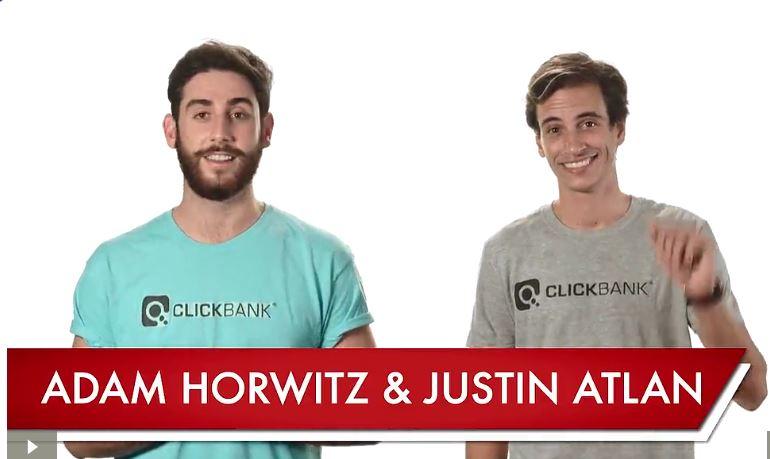 clickbank university adam and justin